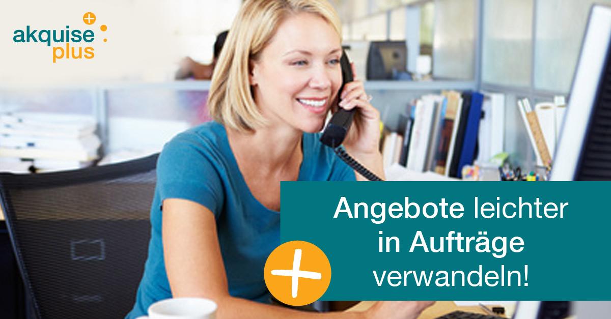 Verkaufsgespräch Nachfass Chancen Nutzen Kundenakquise Hamburg
