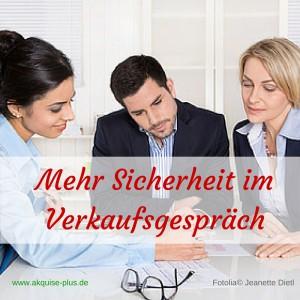 Mehr Sicherheit im Verkaufsgespräch (2)