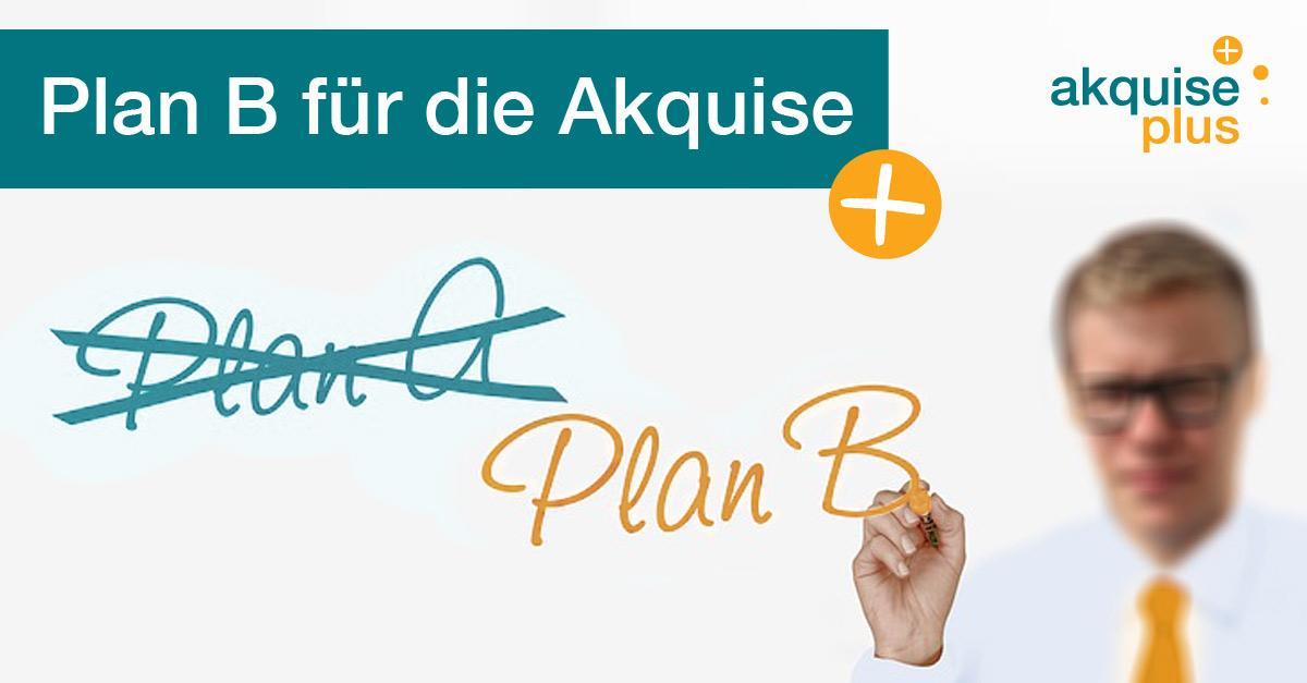 Plan für die Akquise